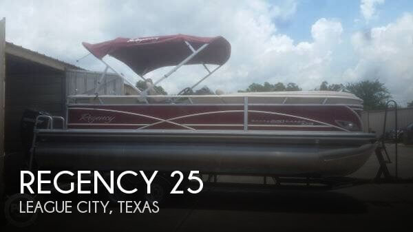 Used Pontoon Boats For Sale in North Carolina by owner | 2014 Regency 25