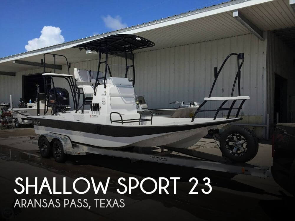 Used Boats For Sale in Corpus Christi, Texas by owner | 2015 Shallow Sport 23
