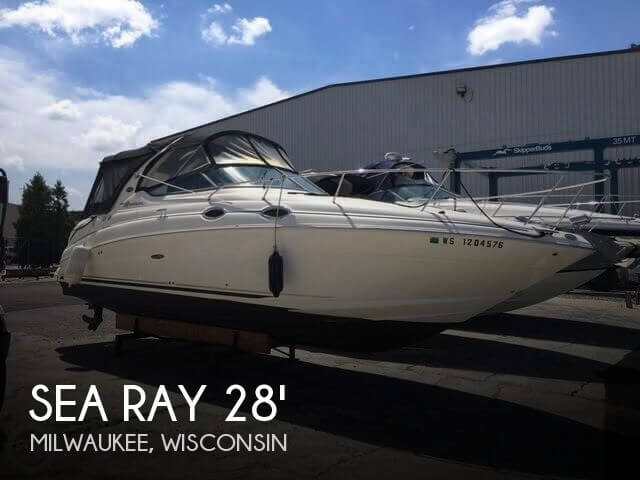 Used Boats For Sale in Wisconsin by owner | 2007 Sea Ray 28