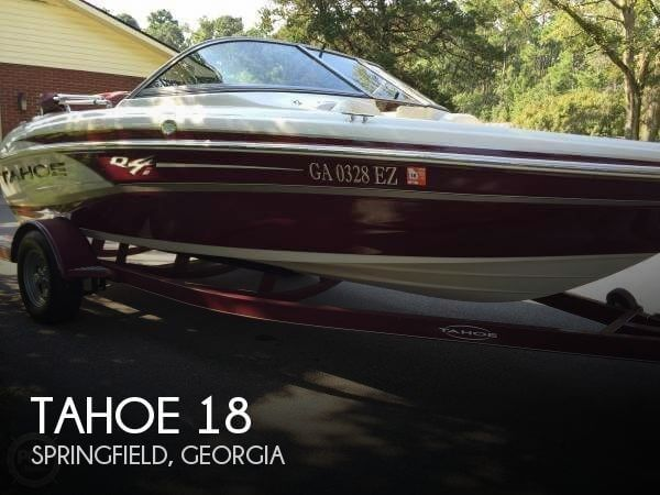 Used Tahoe Boats For Sale in Georgia by owner | 2014 Tahoe 18