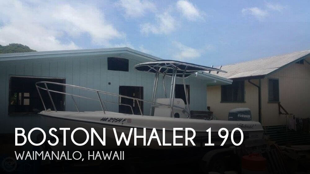 Used Boats For Sale in Honolulu, Hawaii by owner   1972 Boston Whaler 19