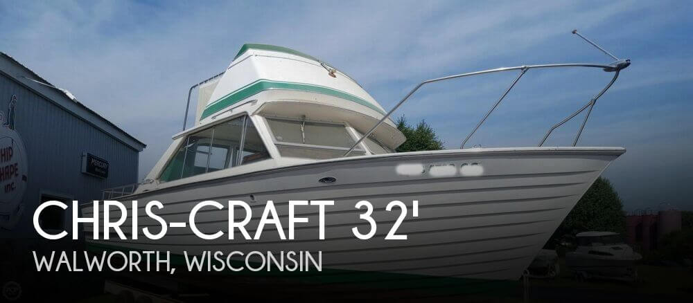 Used Boats For Sale in Rockford, Illinois by owner | 1967 Chris-Craft 32