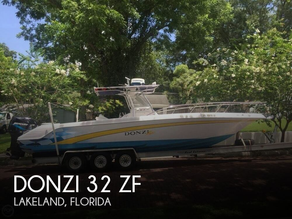 Donzi 32 zf for sale in lakeland fl for 56 700 pop yachts for Donzi fishing boats