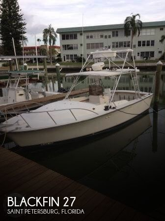 Used Blackfin Boats For Sale by owner | 1985 Blackfin 27