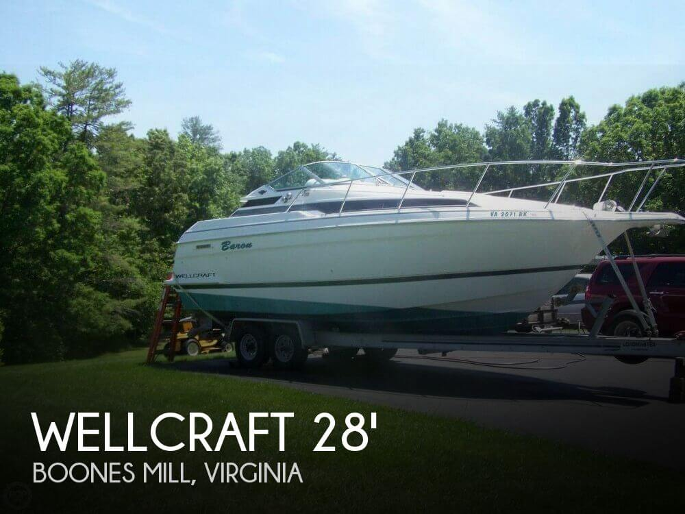 Used Boats For Sale in Lynchburg, Virginia by owner | 1995 Wellcraft 28