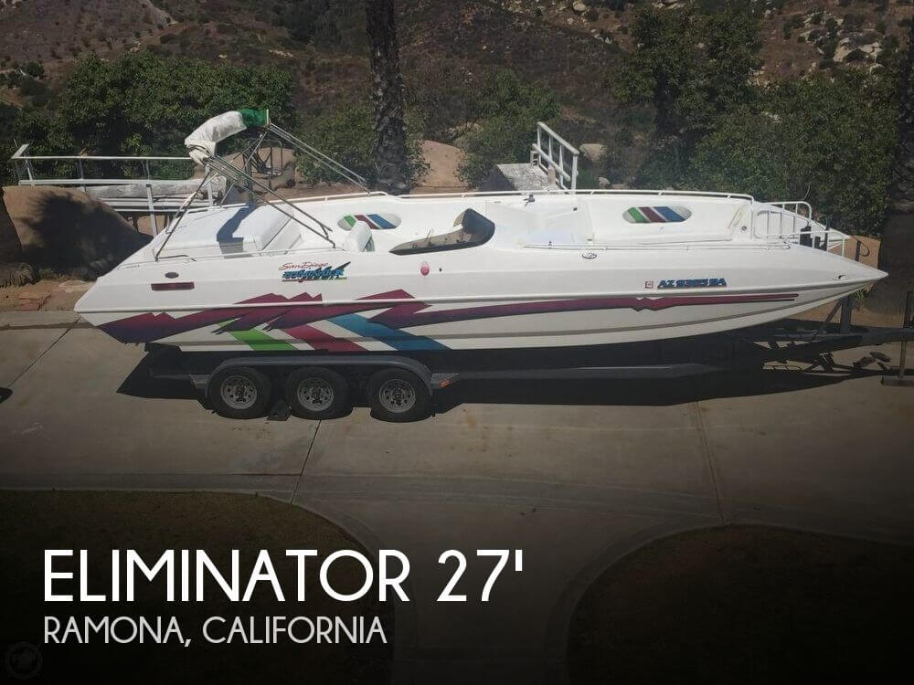 Used ELIMINATOR Boats For Sale by owner | 1999 Eliminator 27