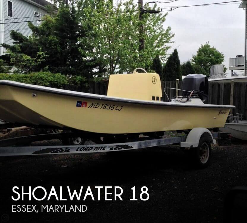 Used Shoalwater Boats For Sale by owner | 1990 Shoalwater 18