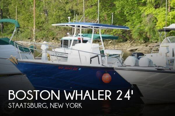 Used Boston Whaler Boats For Sale in New York by owner   1997 Boston Whaler 24