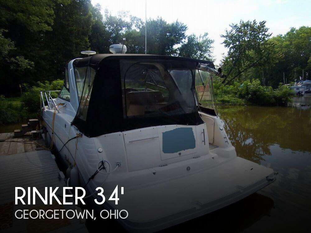Used Boats For Sale in Cincinnati, Ohio by owner | 2005 Rinker Fiesta Vee 342