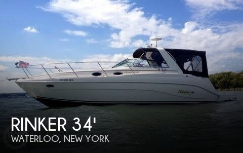 Used Boats For Sale in Syracuse, New York by owner | 2002 Rinker 34