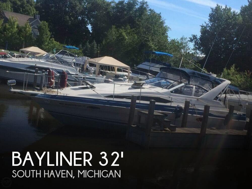 Used Bayliner Boats For Sale in Michigan by owner | 1987 Bayliner 32