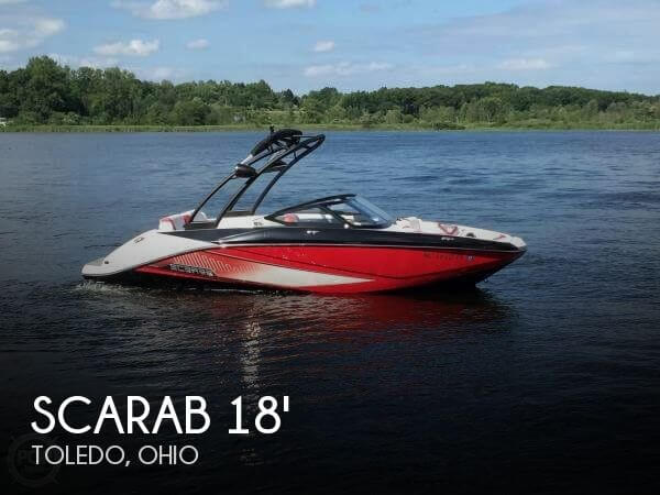 Used Ski Boats For Sale in Ohio by owner | 2015 Scarab 18