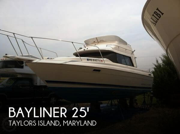 Used Fishing boats For Sale in Maryland by owner | 1994 Bayliner 25