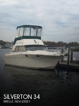 34 foot silverton 34 34 foot silverton fishing boat in for Point pleasant fishing boats