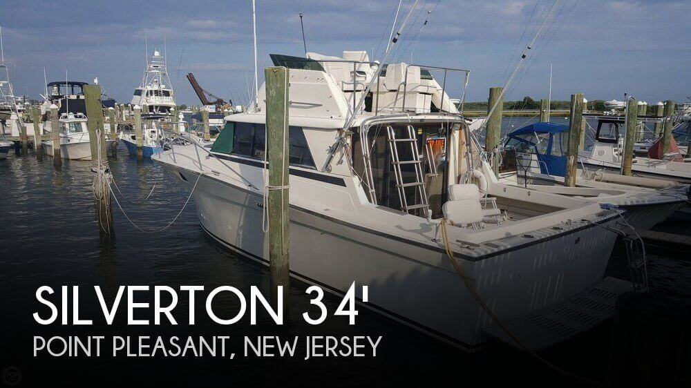 Silverton 34 convertible for sale in brielle nj for for Fishing boats point pleasant nj