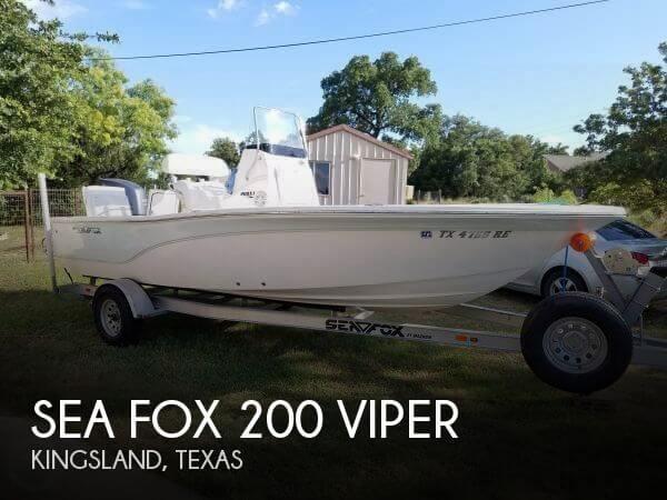 2013 SEA FOX 200 VIPER for sale