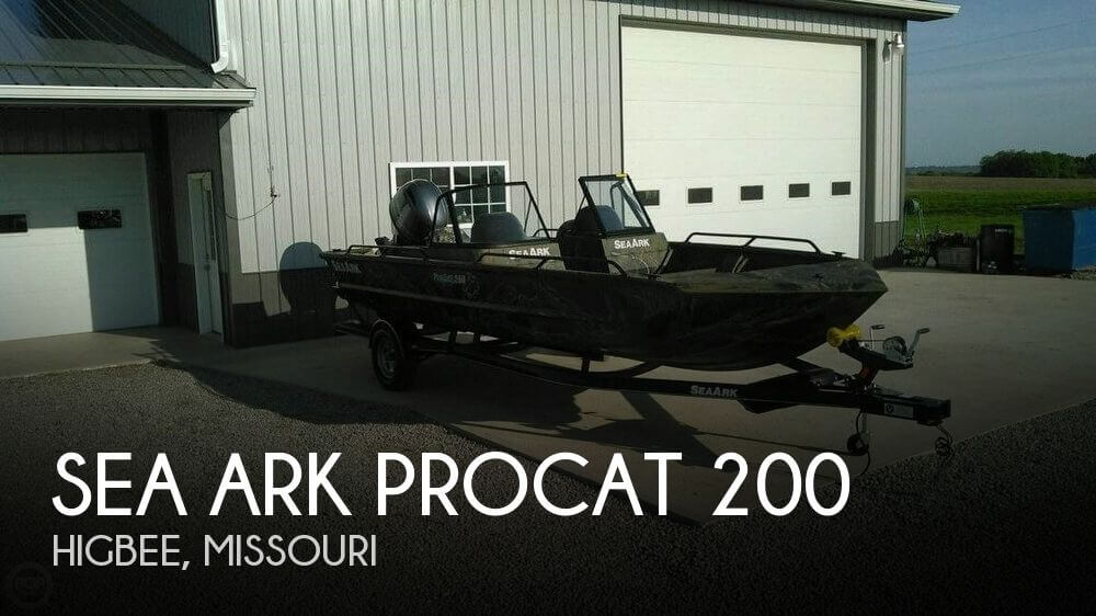 Seaark Boats For Sale >> Used 2015 Sea Ark Procat 200 For Sale