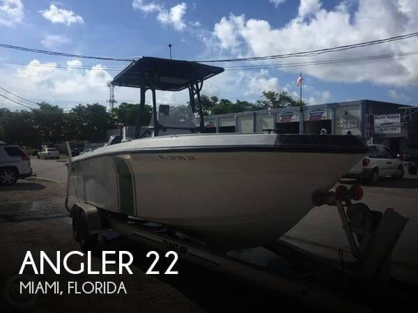 Used Angler Boats For Sale by owner | 2002 Angler 22