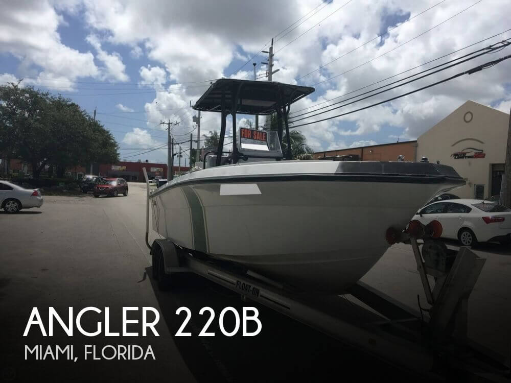 Canceled angler 220b boat in miami fl 110371 for Angler fish for sale
