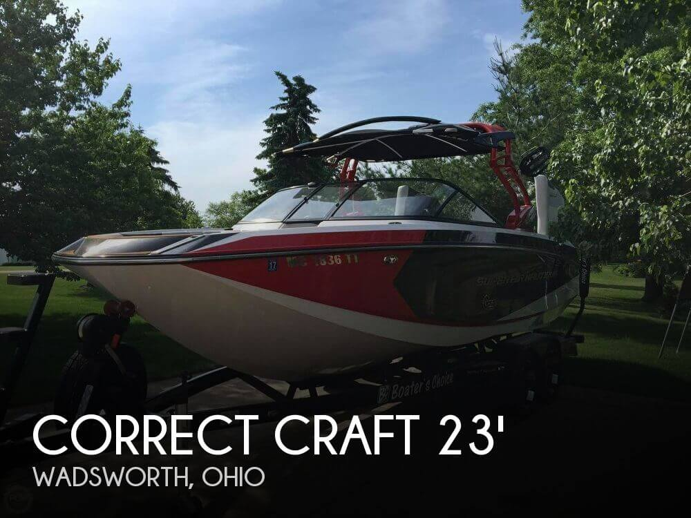 Used Boats For Sale in Youngstown, Ohio by owner | 2013 Correct Craft Super Air Nautique G23
