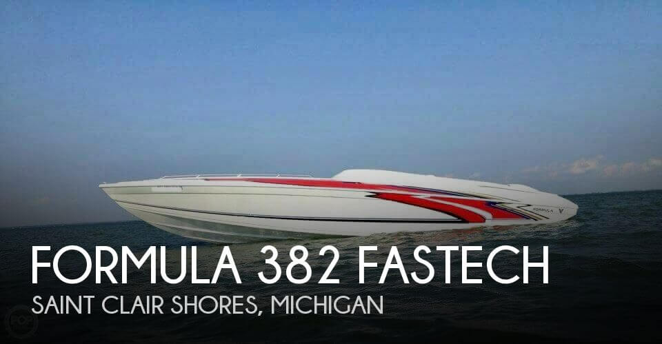Used Boats For Sale in Ann Arbor, Michigan by owner | 1999 Formula 38