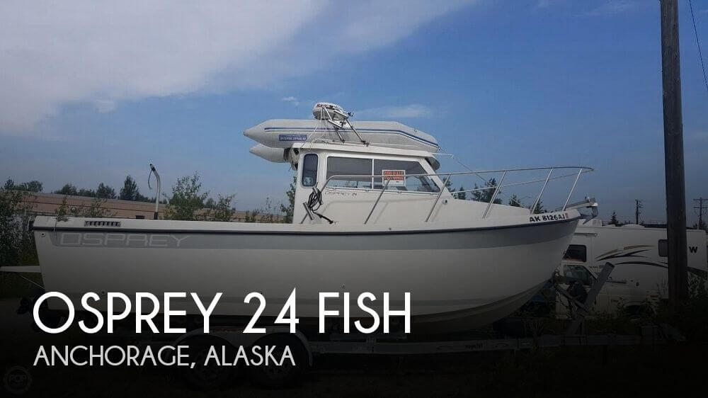 Canceled osprey 24 fish boat in anchorage ak 110460 for Fishing in anchorage