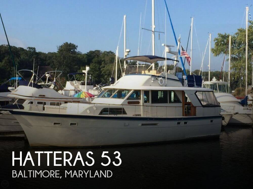 Used Motoryachts For Sale in Maryland by owner | 1979 Hatteras 53