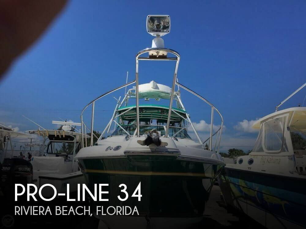 Used Pro-Line Boats For Sale in Florida by owner | 1998 Pro-Line 34