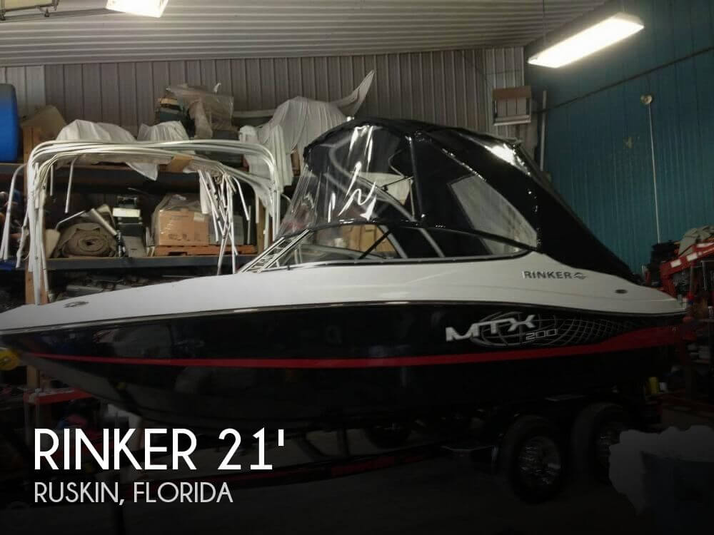 Used Rinker Boats For Sale in Florida by owner | 2012 Rinker 21