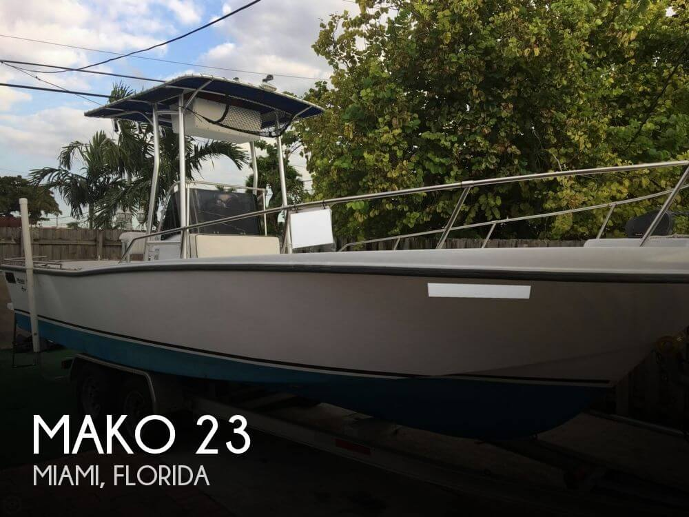 Used 1976 Mako 23 Miami Florida Boatbuys Com