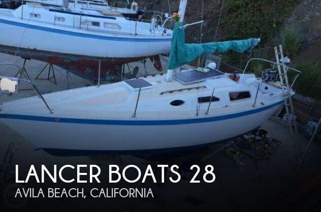 Used Boats For Sale in San Luis Obispo, California by owner | 1978 Lancer Boats 28