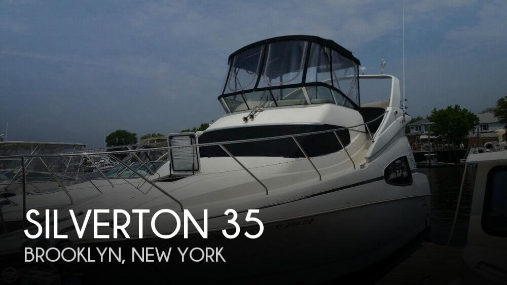 Used Motoryachts For Sale in New York by owner | 2002 Silverton 35