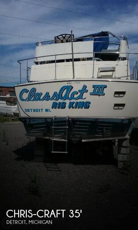 Used Chris Craft Boats For Sale in Michigan by owner | 1974 Chris-Craft 35