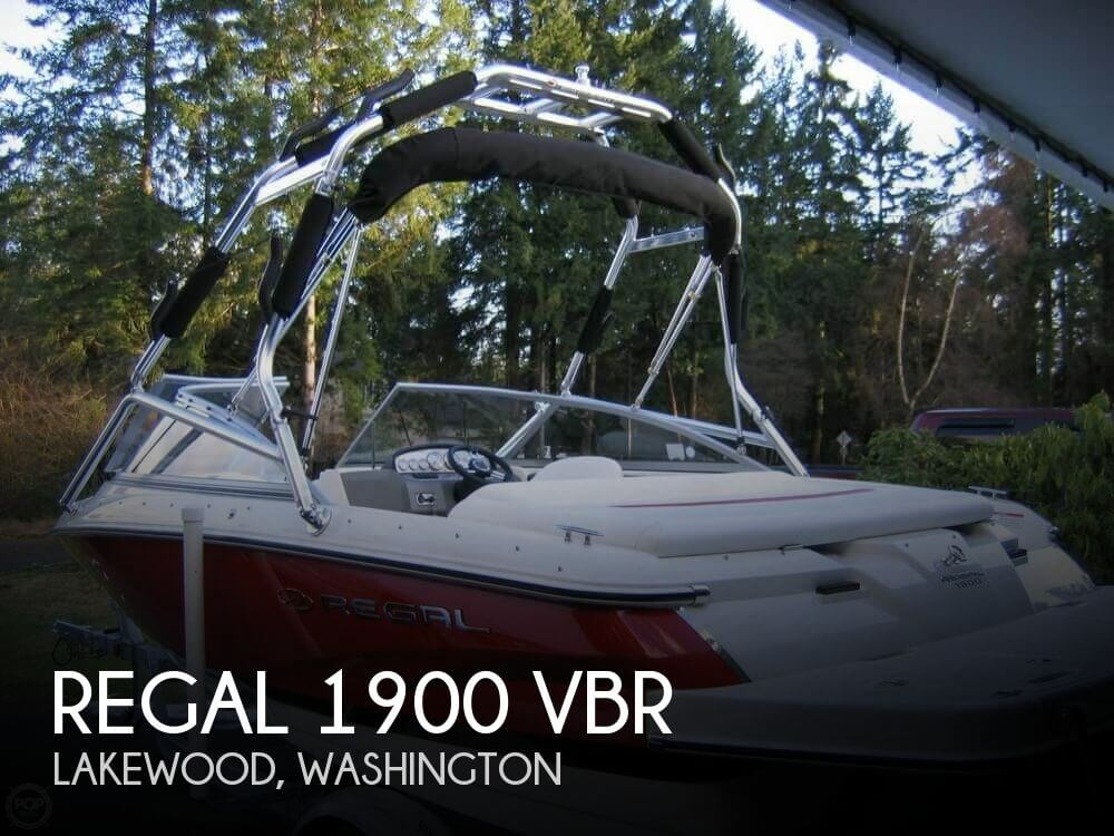 2007 REGAL 1900 VBR for sale