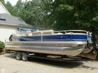 2014 Sun Tracker Fishin' Barge 24 DLX - #1