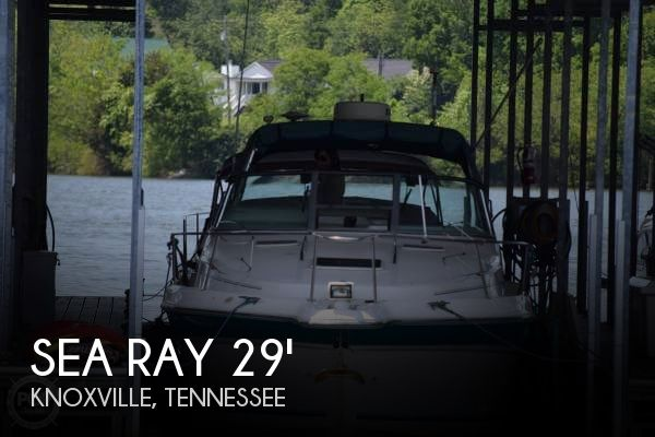 Used Sea Ray 29 Boats For Sale by owner   1995 Sea Ray 29