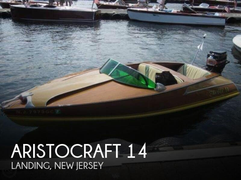 14 foot aristocraft 14 14 foot motor boat in landing nj for Used outboard motors nj