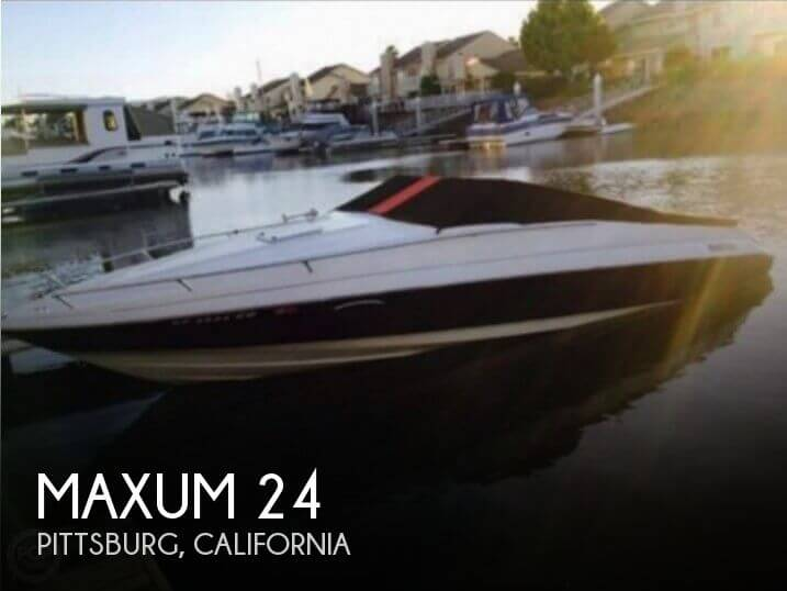 Used Maxum Boats For Sale in California by owner | 1991 Maxum 24