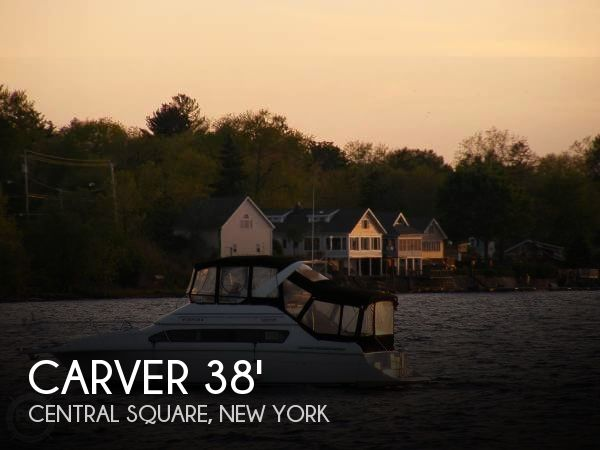 Used Boats For Sale in Syracuse, New York by owner | 1999 Carver 38