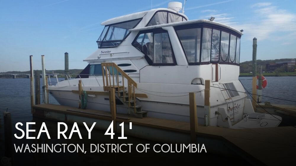 Used Boats For Sale in Hagerstown, Maryland by owner | 1987 Sea Ray 41
