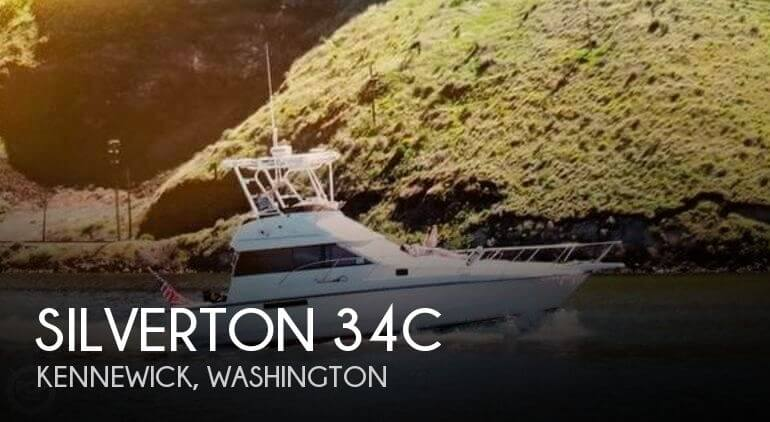 1991 SILVERTON 34C for sale