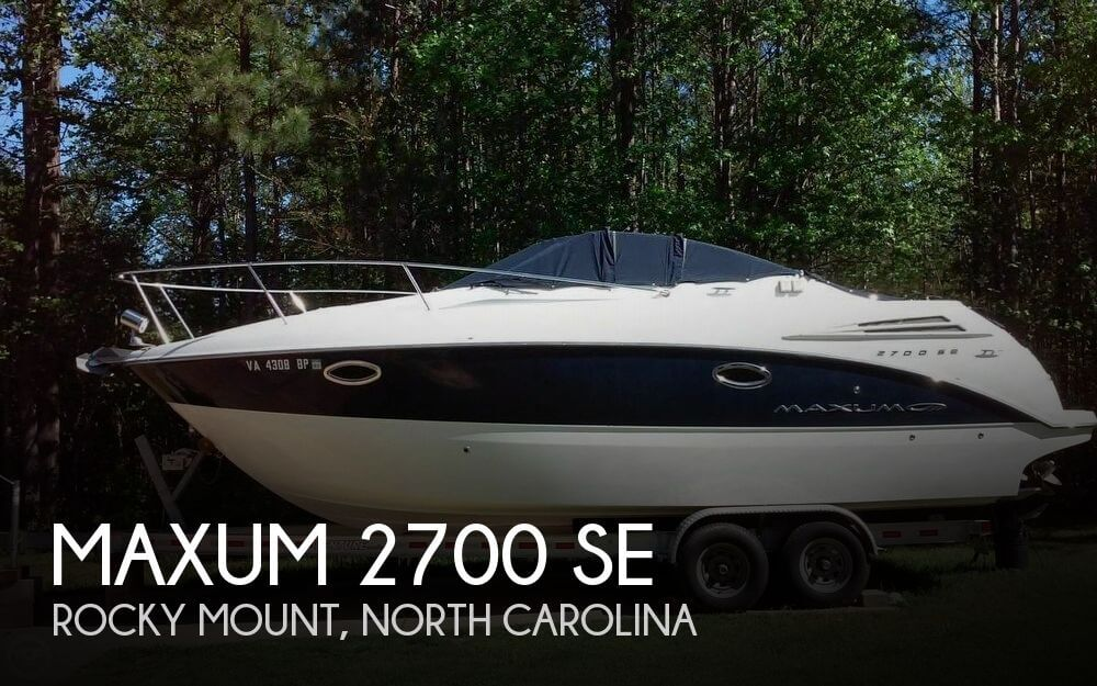 Used Boats For Sale in Raleigh, North Carolina by owner | 2009 Maxum 26