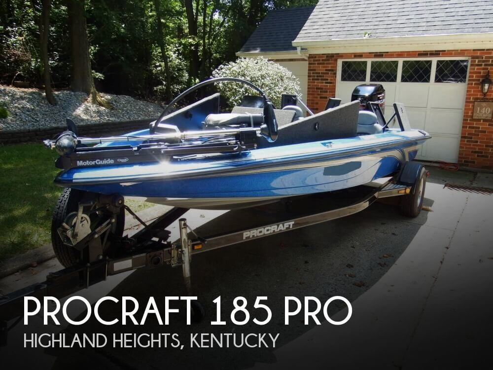 Canceled procraft 185 pro boat in highland heights ky for Bass fishing boats for sale