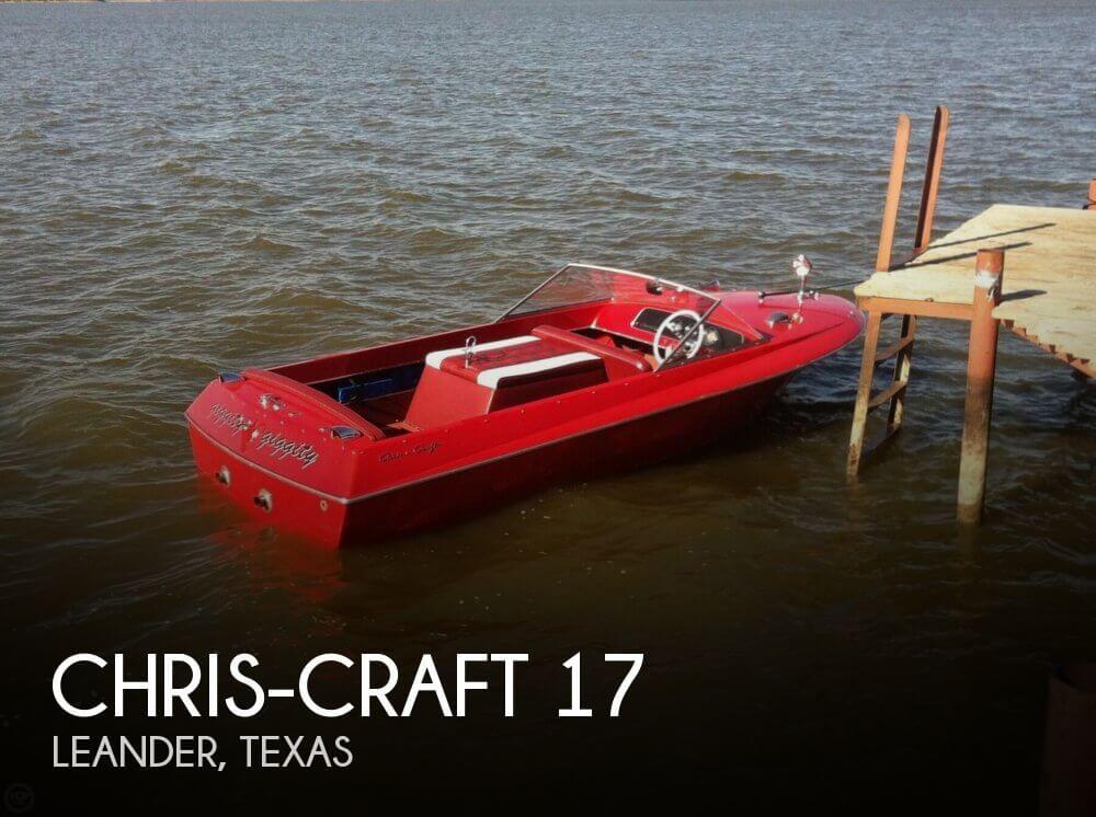 17 Foot Chris Craft 17 17 Foot Chris Craft Motor Boat In