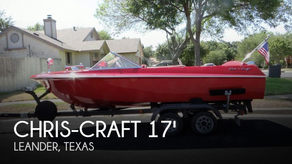3127297V chris craft 17 cavalier for sale in leander, tx for $22,500 pop  at n-0.co