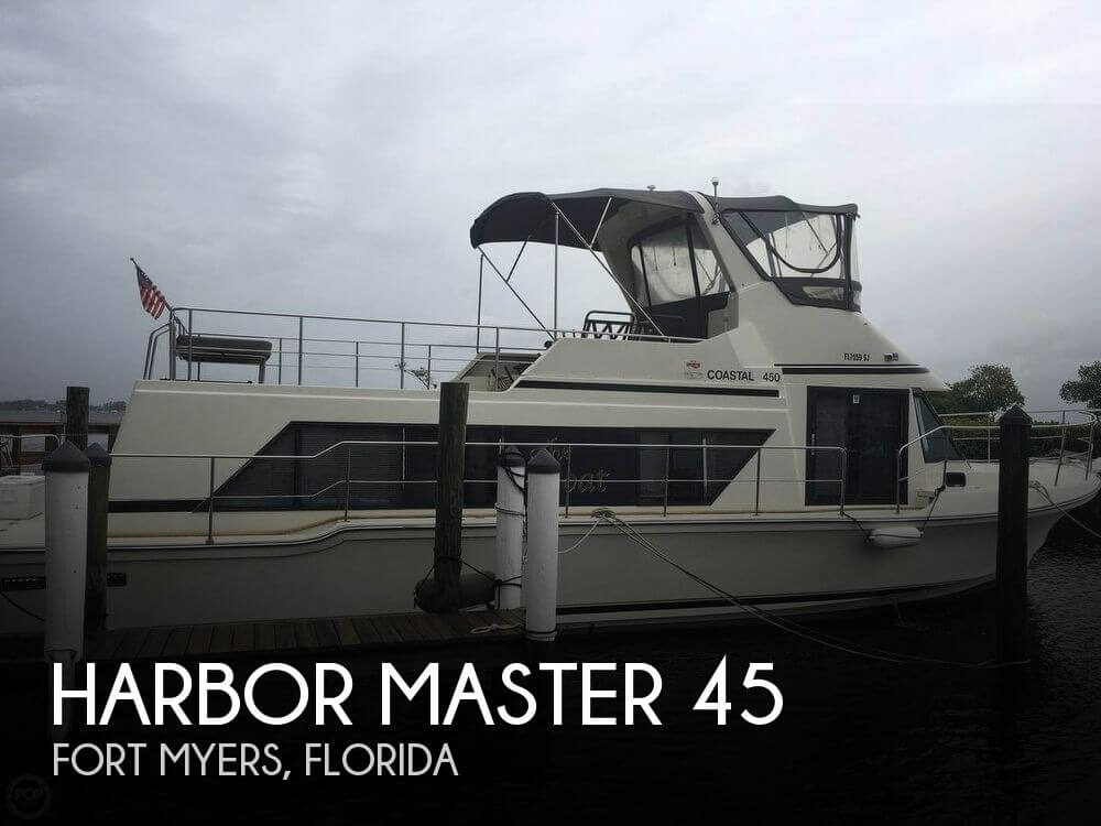 Used Harbor Master Boats For Sale by owner | 1989 Harbor Master 45