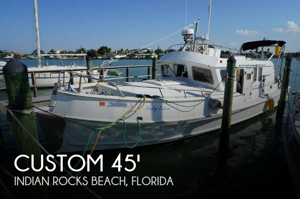 2000 Custom 45 Pilothouse Trawler