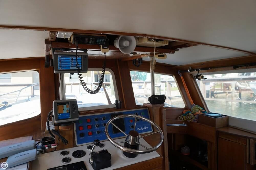 2000 Custom boat for sale, model of the boat is 45 Pilothouse Trawler & Image # 3 of 40