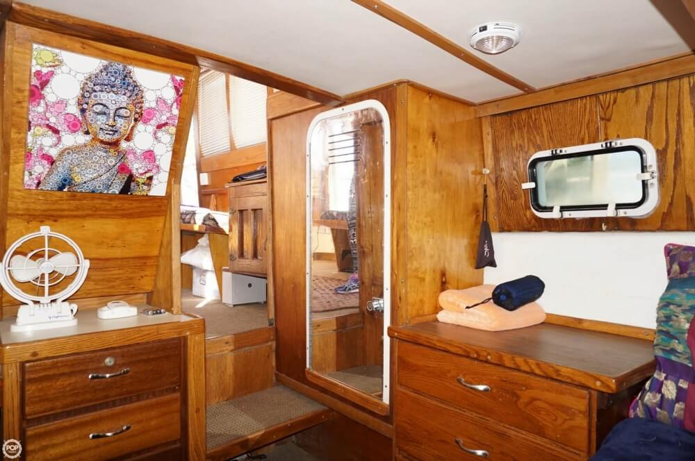 2000 Custom boat for sale, model of the boat is 45 Pilothouse Trawler & Image # 9 of 40