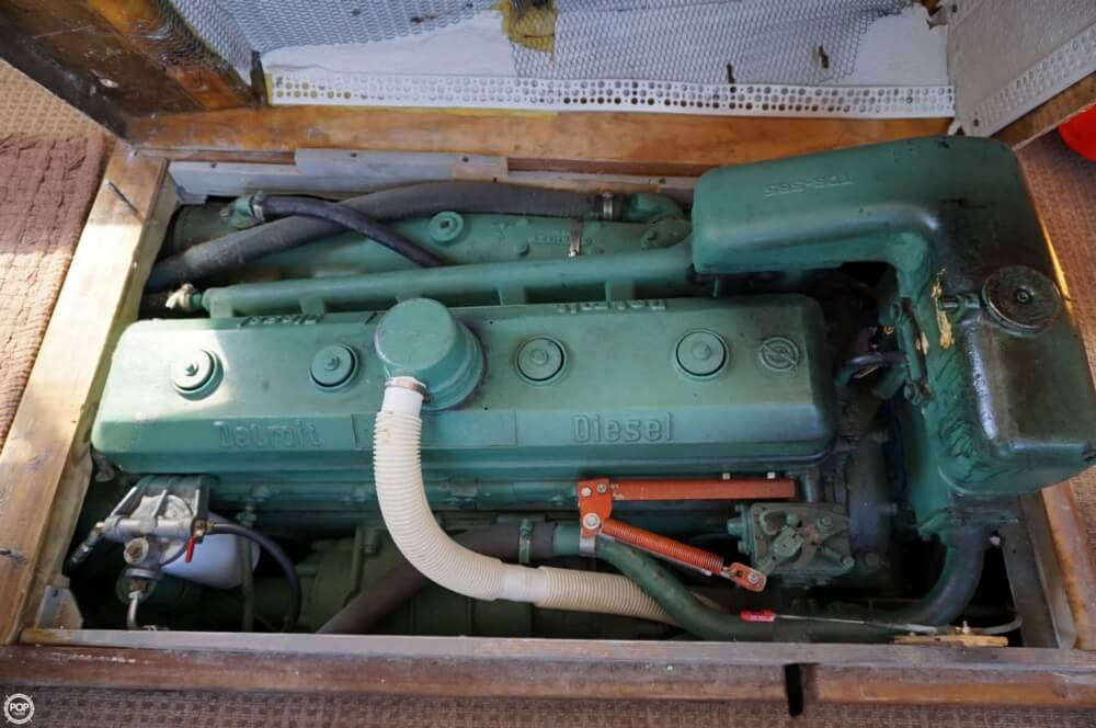 2000 Custom boat for sale, model of the boat is 45 Pilothouse Trawler & Image # 10 of 40